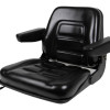 Black fold down seat with arms