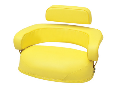 Yellow 3 Piece Replacement Cushion for Select John Deere Models