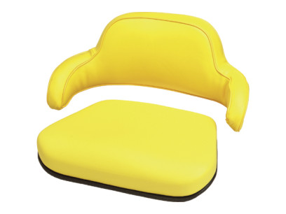 Yellow 2 Piece Replacement Cushion for John Deere Models